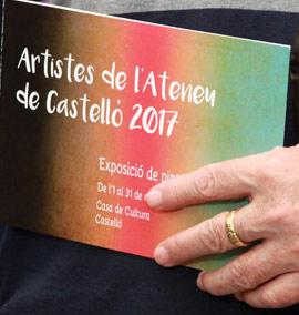 Exposición de pintura y escultura de artistas del Ateneo Cultural de Castellón