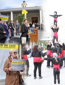 Acto de Aministia Internacional ´´Inauguremos una ciudad acogedora con las personas refugiadas´´