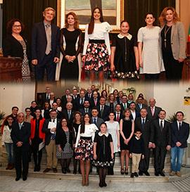 Homenaje a las empresas y colectivos que colaboran en la Magdalena