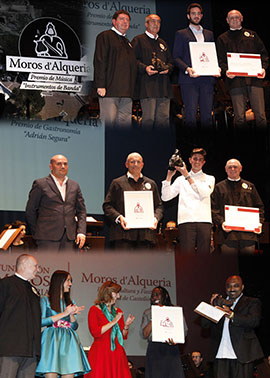 Entrega de los VIII Premios Moros d´Alqueria