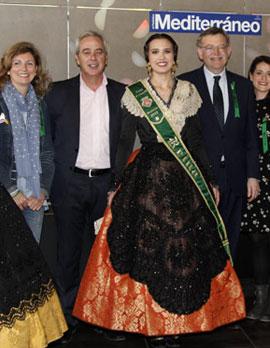 Inauguración de la bodeguilla del periódico Mediterráneo