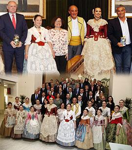 Homenaje a las empresas que patrocinan actos de las fiestas de la Magdalena