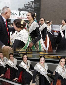 El Centro Comercial Salera recibe la visita de las Reinas