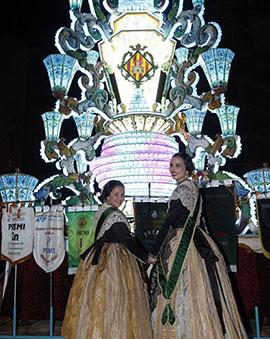 Visita de las Reinas a la Gaiata 15 Sequiol