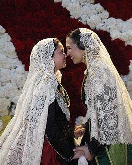 Ofrenda de Flores a la Mare de Déu de Lledó de Castelló