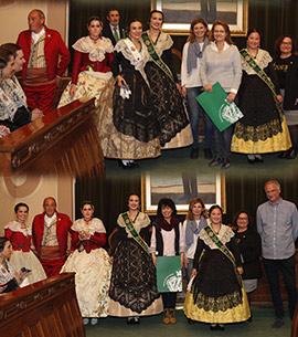 Homenaje a las familias de las reinas y damas Magdalena 2017