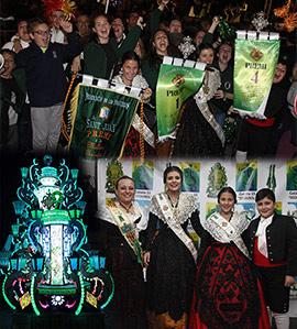 La gaiata 15 Sequiol, ganadora del concurso de gaiatas Magdalena 2017