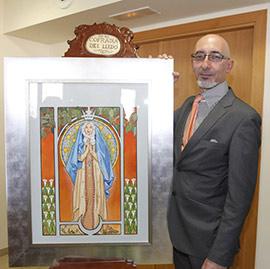 Presentación del cartel de las Fiestas en honor a la Virgen del Lledó