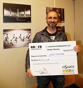 José Cintas Albiol, ganador del VII Maratón Fotográfico Castellón