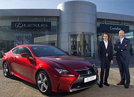 Roberto Merhi, embajador de Lexus para su gama deportiva