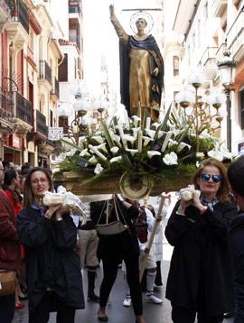 Imágenes de la procesión en honor a San Vicente