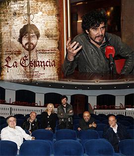 Presentación de la obra ´La estancia´, en el teatro Principal de Castellón