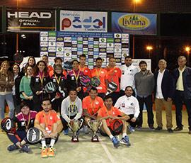 Éxito y alto nivel en el Campeonato Autonómico de Pádel