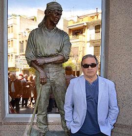 Almassora y el escultor Jere vuelven a unir sus caminos