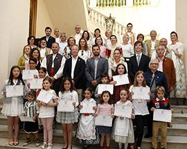 Entrega de los premios del concurso de dibujo Ven a pintar a Lledó