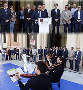 Acto de conmemoración del Día de Europa