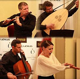 Concierto de XVIII-21 Le Baroque Nomade en el Casino  Antiguo
