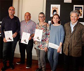 Entrega de premios del concurso de fotografía con móvil