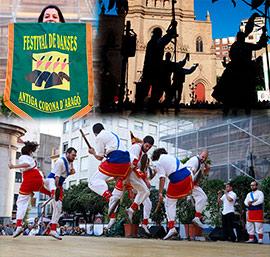 Festival de Danses en la plaza Mayor de Castellón