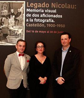 Inauguración de la exposición Legado Nicolau