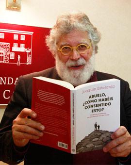 El periodista Joaquín Estefanía en la Fundación Caja Castellón
