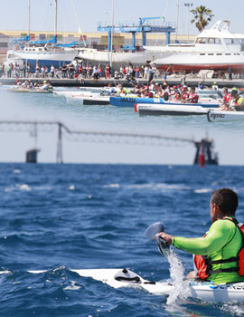 2ª prueba de la Copa de España de Kayak de Mar en el Real Club Náutico de Castellón