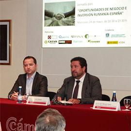 Clausura de la jornada Oportunidades de Negocio e inversión Rumanía-España #Castellónexporta
