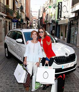El nuevo SUV Skoda Kodiaq de compras por Castellón