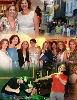 Los comercios de Castellón ambientaron las calles con la Fashion Night