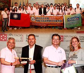 Una expedición del Máster de la Universidad General de Taiwán visita la Diputación de Castellón