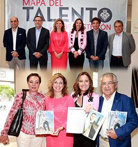 Presentación de la revista Talento, entrevistas a profesionales de éxito de Castellón