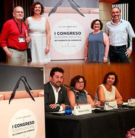 Inauguración del I Congreso Intermunicipal de Fomento del Comercio