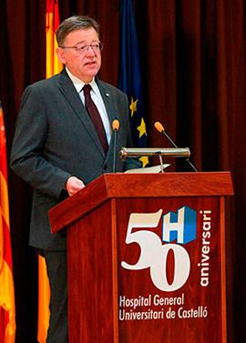 El Hospital General Universitari de Castelló celebra su 50 aniversario