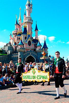 Las fiestas de la Magdalena se promocionan en Disney con un desfile