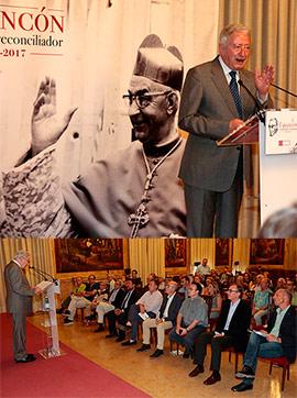 Antonio Pelayo ensalza la impronta del cardenal burrianense durante la transición española