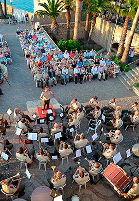 Concierto Extraordinario Homenaje de las Fuerzas Armadas en Peñíscola
