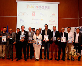 Entrega de los I Premios TurisCope de la provincia de Castellón