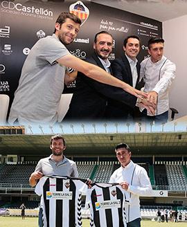 Presentación de los nuevos gestores del CD Castellón