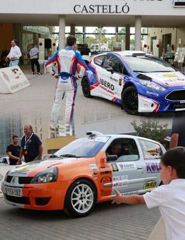 La salida del Rallye de la Cerámica de Castellón
