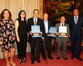 Los médicos Bruscas, Aguilera y Monferrer, reciben el Premio Boldó 2017