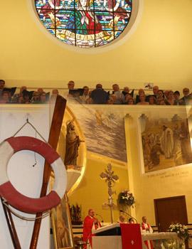 Celebración de la  Misa mayor en honor a Sant Pere