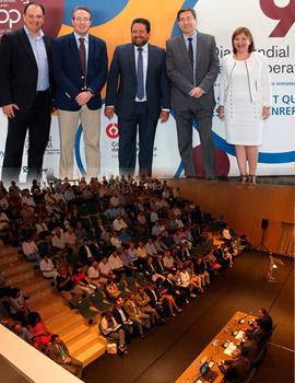 Inauguración de la jornada conmemorativa del Día Mundial del Cooperativismo
