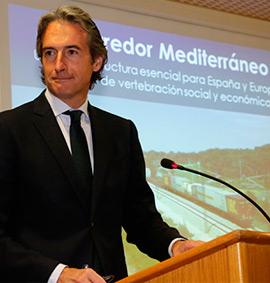 Íñigo de la Serna expone la situación del Corredor Mediterráneo