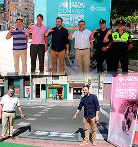 #JoConvisc, seguridad vial en el entorno urbano