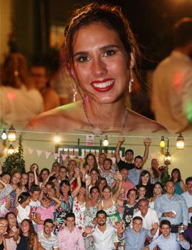 Ana Goterris Estrada celebra su nombramiento como Na Violant d'Hongria 2018