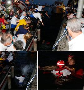 Incidente en la procesión de la Virgen del Carmen