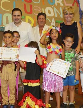 Clausura de la escuela de verano de la Asociación Gitana de Castellón