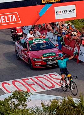La Vuelta a España en la etapa Benicàssim-Alcossebre