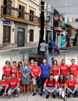 La alcaldesa de Castellón recibe a los trece voluntarios de la ONG Youcanyolé atrapados en Kenia