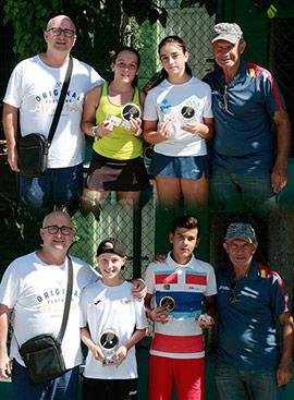 Torneo categoría infantil del Circuito provincial de tenis de Castellón